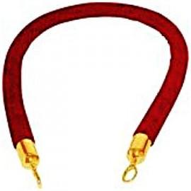 8  Ft. Red Velvet Rope