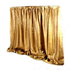 Pipe & Drape Gold