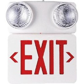 Emergency Exit Sign with Lamp
