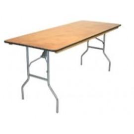 "Rectangular Wood Table 8' X 30"""
