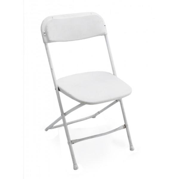White Samsonite Folding Chair  sc 1 st  Orange County Party Rentals & White Samsonite Folding Chair rentals by Party Rentals Company in ...