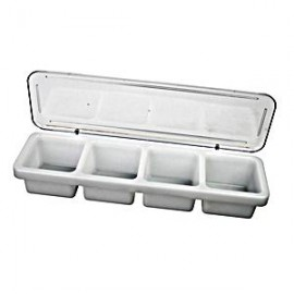 4 Compartment  Bar Caddies