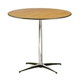 30 in. Cocktail Table 30 in. High