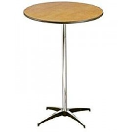 30 in. Cocktail Table 42 in. High