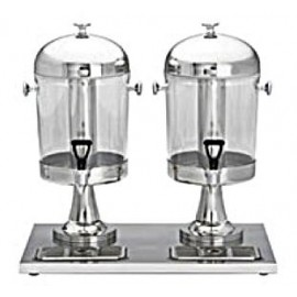 Dual Cold Beverage  Juice Dispenser