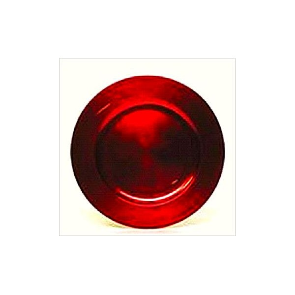 Charger Plate Red